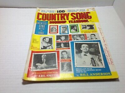 Vintage Country Song Roundup Yearbook Spring 1967 Jeannie Seely & More