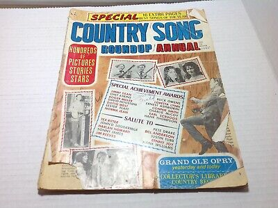 Vintage Country Song Roundup Annual Winter 1965 Norma Jean Dottie West & More