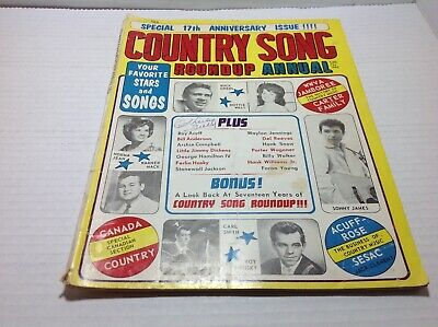 Vintage Country Song Roundup Annual 1966 Dottie West Sonny James & More