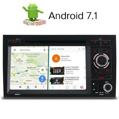 HD Android 7.1 Autoradio DVD GPS LED WLAN  Audi A4 B6 B7 S4 RS4 B6 B7 SEAT Exeo