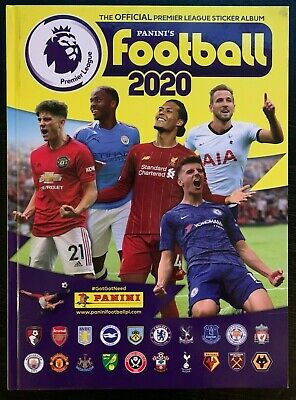Panini Football 2020 Premier League Official Hardback Album - Limited Edition