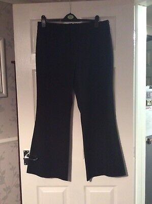 Dorothy Perkins Black  Trousers Size 16 Vgc