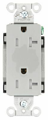 Bryant 20,  Commercial,  Receptacle,  Gray,  Yes Tamper Resistant Gray  Nylon