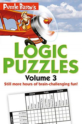 Ryder Stephen P.-Puzzle Baron`S Logic Puzzles BOOK NEUF