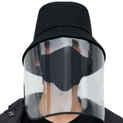 Fisherman Cap Protective Clear Face Shield Saliva-proof Dust-proof Full Face Hat