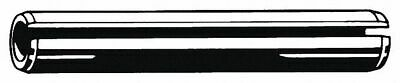 """Fabory Steel Slotted Spring Pin, 1-1/4"""" L, Plain Fastener Finish"""