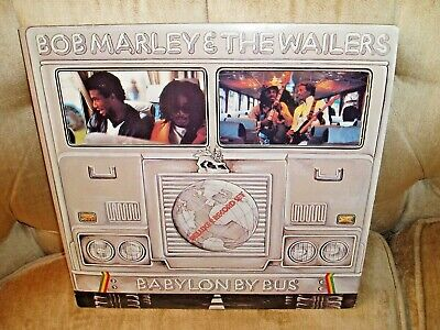 Bob Marley & The Wailers - Babylon By Bus - 2LPs Island Records - Original EX