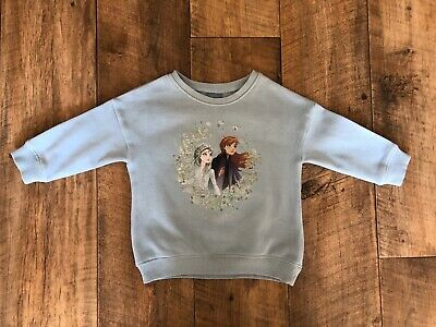 NEXT Baby Girl Disney Frozen Elsa Anna Sweater Top Age 9-12 Months