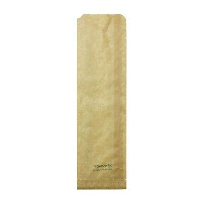 Vegware Compostable Therma Paper Hot Food Bags 356 x 101mm (Pack of 500) - [FC89