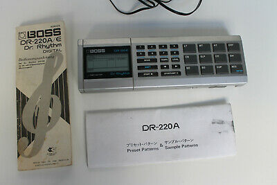 Boss DR-220E Digital Drum Machine Dr. Rhythm electr Drum Version DJ Trigger out