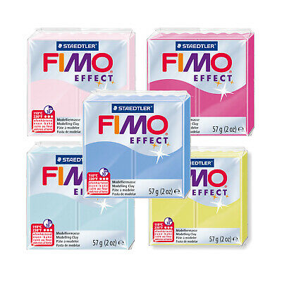 Fimo Effect GEMSTONE 57g Polymer Clay Full 5 Colour Range Modelling Craft Kit