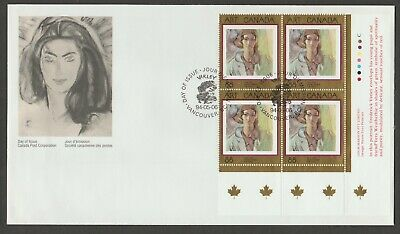 Canada 1994 #1516 block of 4 , large  FDC