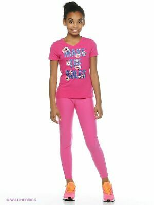 Nike Girls Legend Tight Fit Leggings Size X Large Bnwt Age 13 15  Vivid Pink