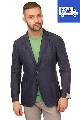 RRP€330 TOMBOLINI DREAM Blazer Jacket Size 52 / XL Single Breasted Made in Italy