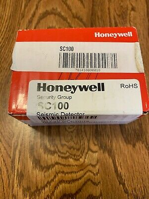 New Honeywell Sc100 Seismic Vibration Detector Commercial Atm/Vault/Safe Sensor