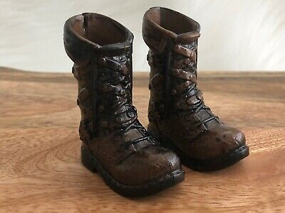 Ever After High HUNTER HUNTSMAN 1st Signature Doll Replacement Brown Boots Shoes