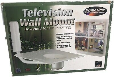 """New in Box Vantage Point W13-w Television Wall Mount 13""""-17"""" White"""