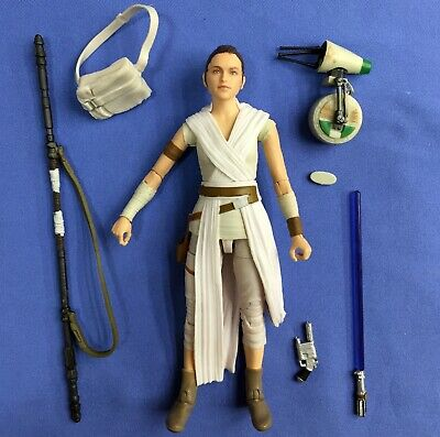 """Star Wars The Black Series REY & D-O 6"""" 100% COMPLETE The Rise Of Skywalker"""