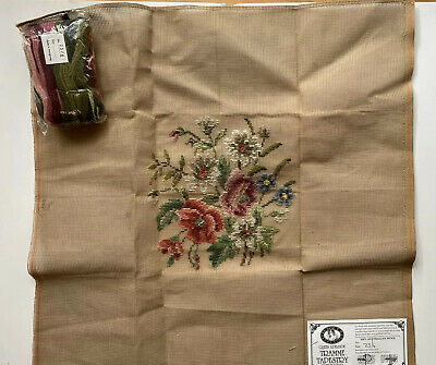 Queen Adelaide Tramme Tapestry Floral Design