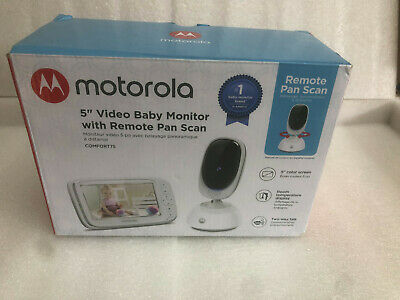 Motorola 5-Inch Video Baby Monitor with Remote Pan Scan - Open Box