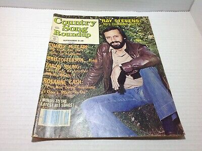 Vintage Country Song Roundup Magazine Sep 1980 Ray Stevens Rosanne Cash  & More