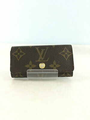 Louis Vuitton / Multicle 4 Monogram Canvas Pvc Brown Total Pattern