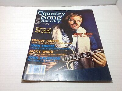 Vintage Country Song Roundup Magazine July 1981 Jerry Reed John Anderson & More