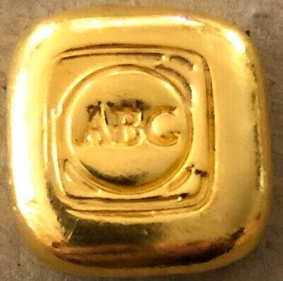 ABC Gold Bullion 1oz 9999 Purity 31 Grams . Purchased From ABC Gold Melb.