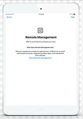 APPLE MDM/ REMOTE MANAGEMENT BYPASS iPHONE/ iPOD/ iPAD IOS 13.4 SUPPORTED