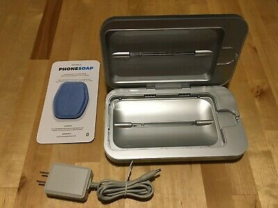 Phone Soap  3.0 UV Cell Phone Sanitizer - Silver