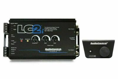 AudioControl LC2i 2 Channel Line Output Converter with ACR-1 Dash Remote