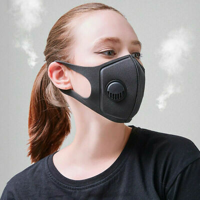 Washable Anti Haze Face Mouth Cover Protection Filter.Respirator.Breathable