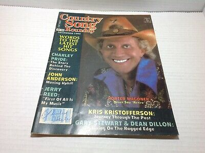 Vintage Country Song Roundup Magazine Dec 1982 Porter Wagoner Charley Pride more
