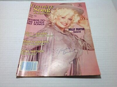 Vintage Country Song Roundup Magazine Apr 1983 Dolly Parton Lacy J. Dalton &More