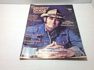Vintage Country Song Roundup Magazine Jun 1983 Don Williams Hank Williams Jr +