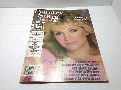 Vtg Country Song Roundup Magazine Apr 1985 Barbara Mandrell Nitty Gritty  & More