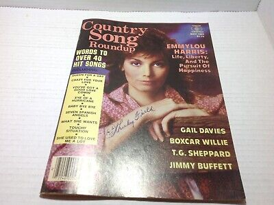 Vtg Country Song Roundup Magazine May 1985 Emmylou Harris Gail Davies & More