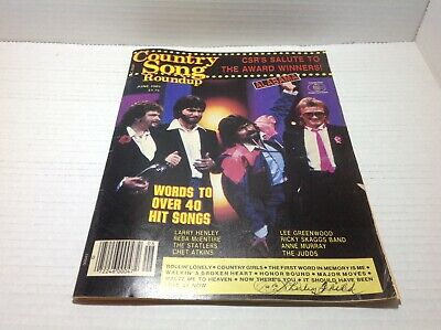 Vtg Country Song Roundup Magazine Jun 1985 Alabama Anne Murray Judds & More