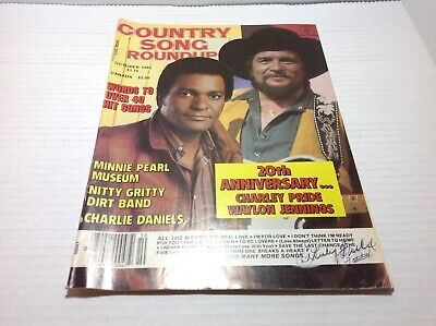 Vtg Country Song Roundup Magazine Oct 1985 Charley Pride Charlie Daniels & More