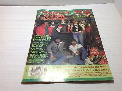 Vtg Country Song Roundup Magazine Feb 1986 Alabama Kathy Mattea  & More