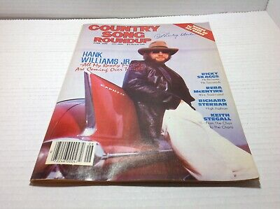Vtg Country Song Roundup Magazine Jun 1986 Hank Williams Jr. Reba  & More