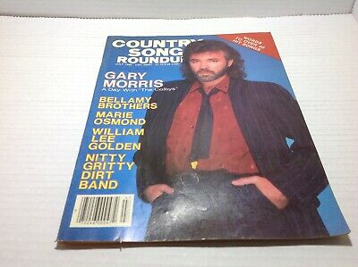 Vtg Country Song Roundup Magazine July 1986 Marie Osmond Nitty Grity Dirt & More