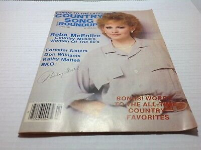 Vtg Country Song Roundup Magazine Apr 1987 Reba Don Williams Kathy Mattea& More