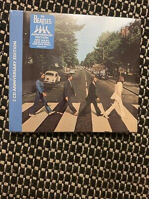 Beatles - Abbey Road (50th Anniversary) (2CD) FREE POSTAGE