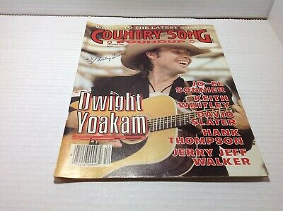 Vtg Country Song Roundup Magazine Dec 1988 Dwight Yoakam Keith Whitley & More