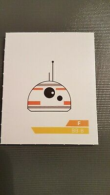 Carte Vignette Star Wars Leclerc 2019 F Bb-8
