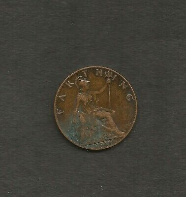 1919 1/4d George V Coin.used in Ireland & England during the war of Independence