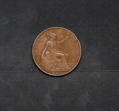 Sinking of the Titanic1912 1d George V Coin.used in Ireland & England during WW1