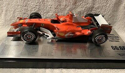 All Time Pole Position 66:66 M.Schumacher 1:18 Hot Wheels