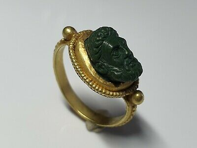 Roman  Ring with Hercules or Zeus 1st Century AD.